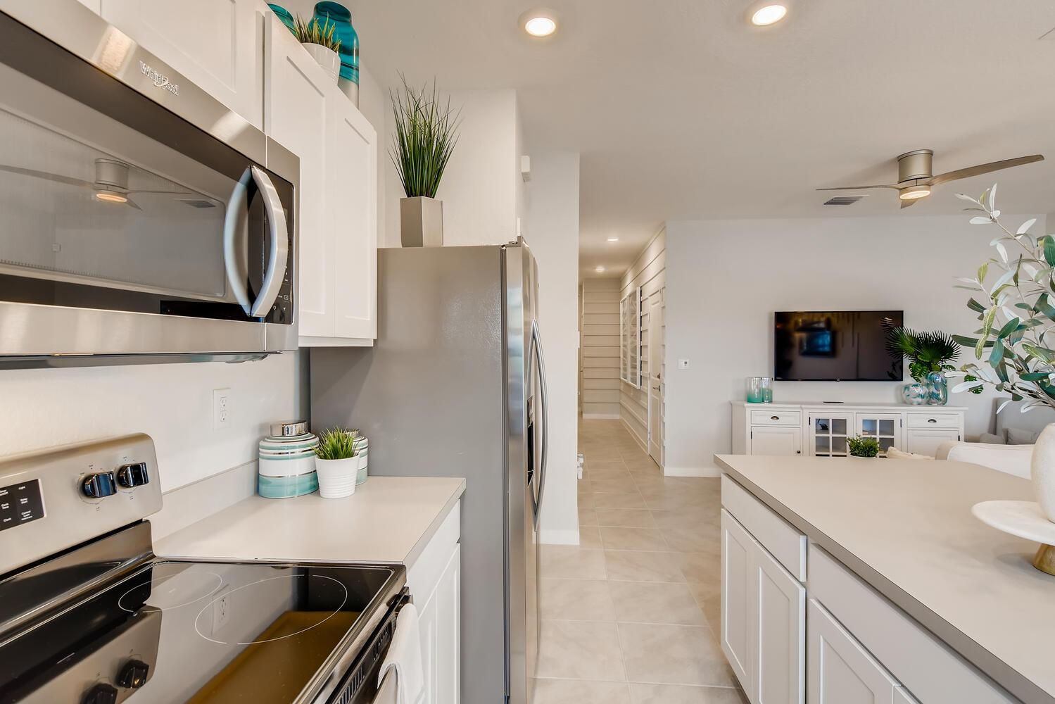 Kitchen featured in the Bella By D.R. Horton in Miami-Dade County, FL