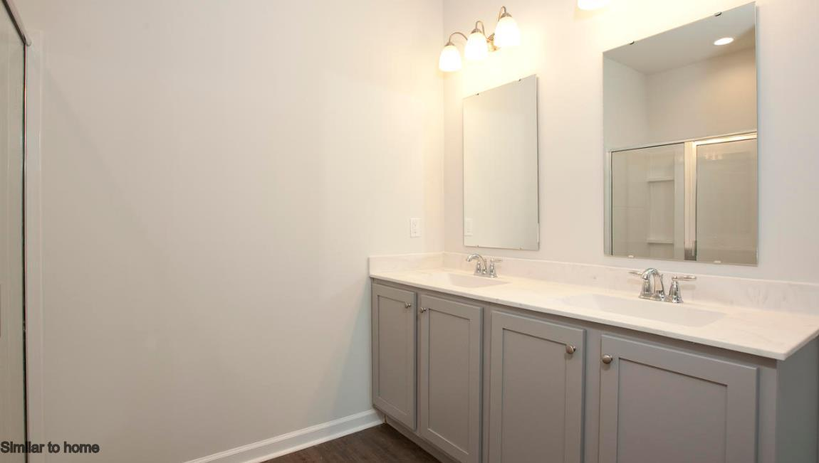Bathroom featured in the ARIA By D.R. Horton in Wilmington, NC