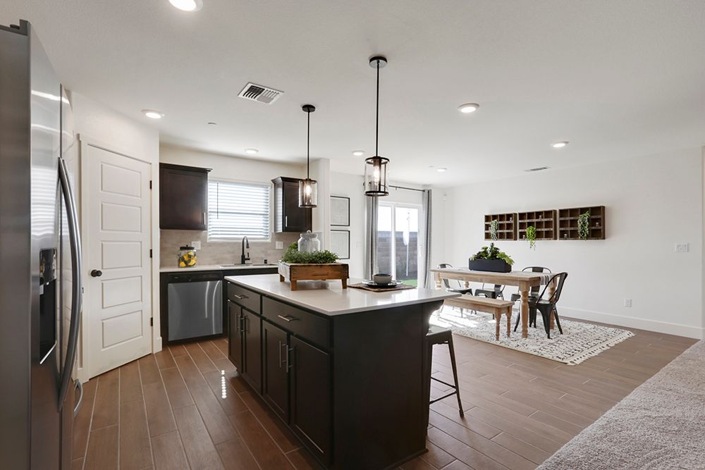 Kitchen featured in the Coolidge By D.R. Horton in Merced, CA
