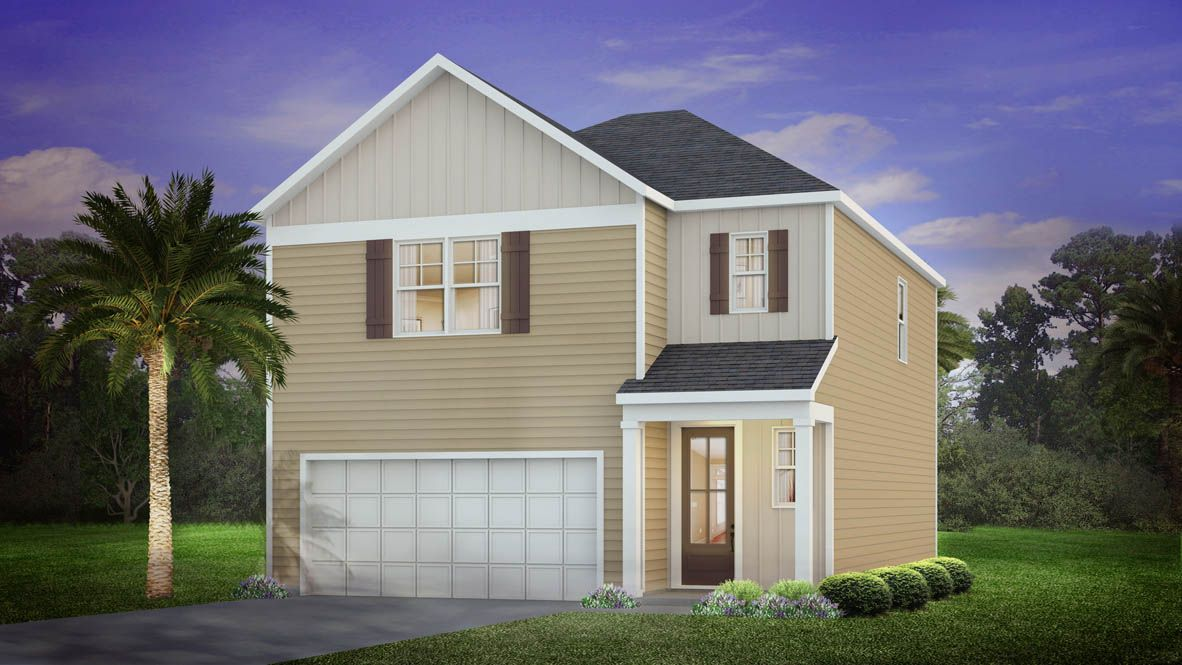 Exterior featured in the Dawson By D.R. Horton in Charleston, SC
