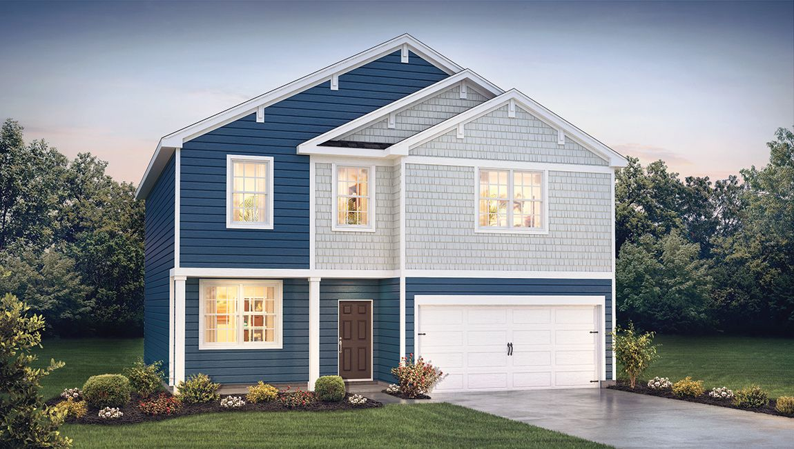 Exterior featured in the EASTOVER By D.R. Horton in Ocean City, MD