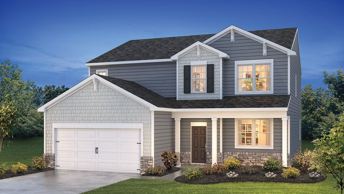 Exterior featured in the ELLERBE By D.R. Horton in Ocean City, MD