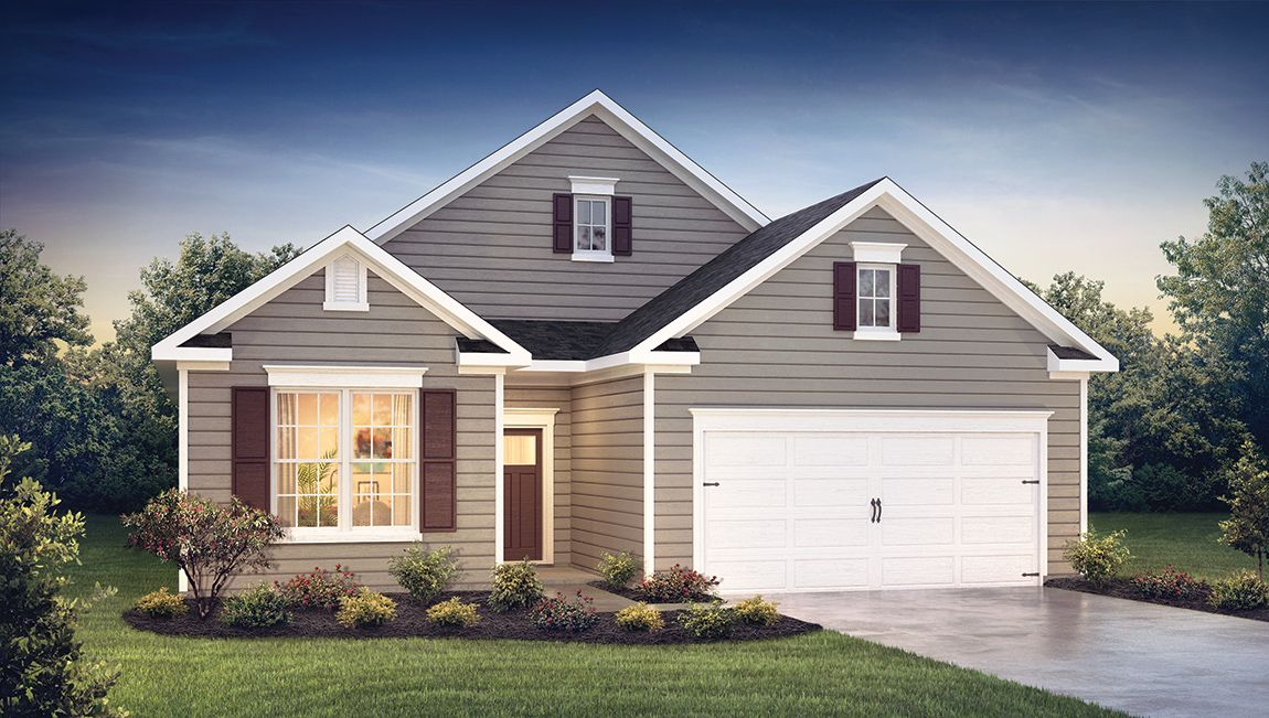 Exterior featured in the BRISTOL By D.R. Horton in Ocean City, MD