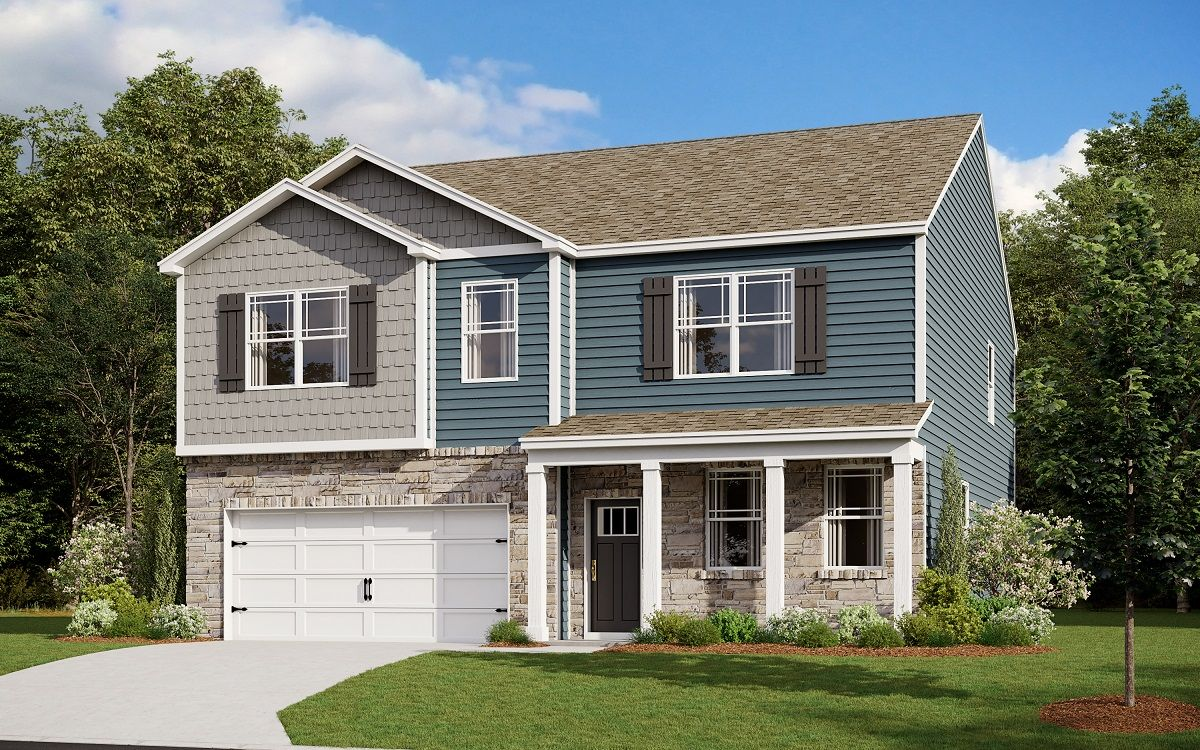 Exterior featured in the HANOVER By D.R. Horton in Ocean City, MD