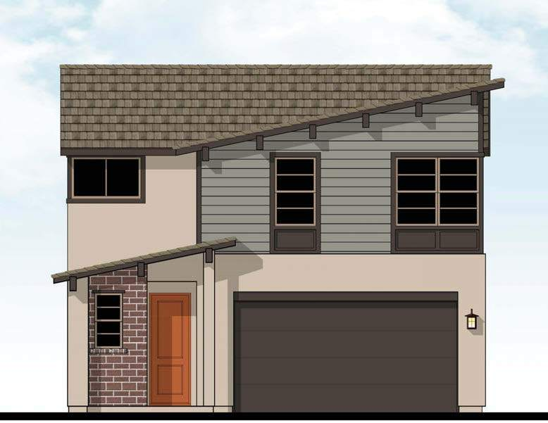 Exterior featured in the Mckinley By D.R. Horton in Merced, CA