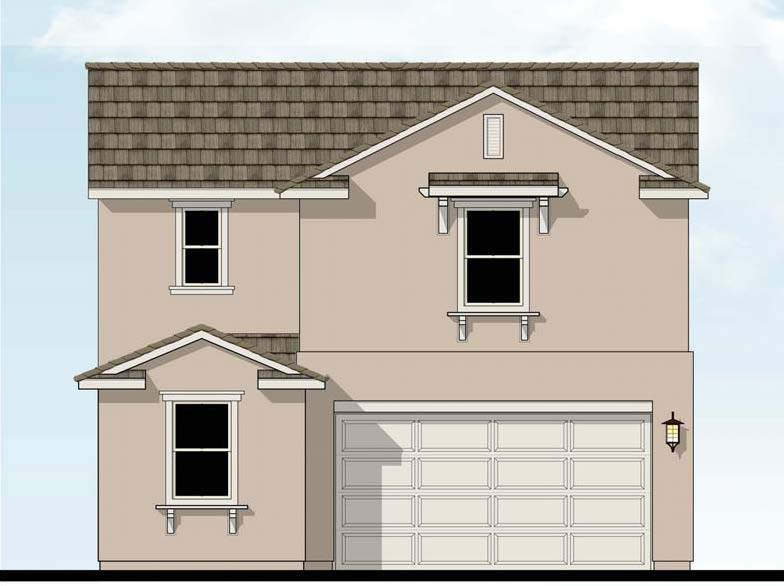 Exterior featured in the Shasta By D.R. Horton in Merced, CA