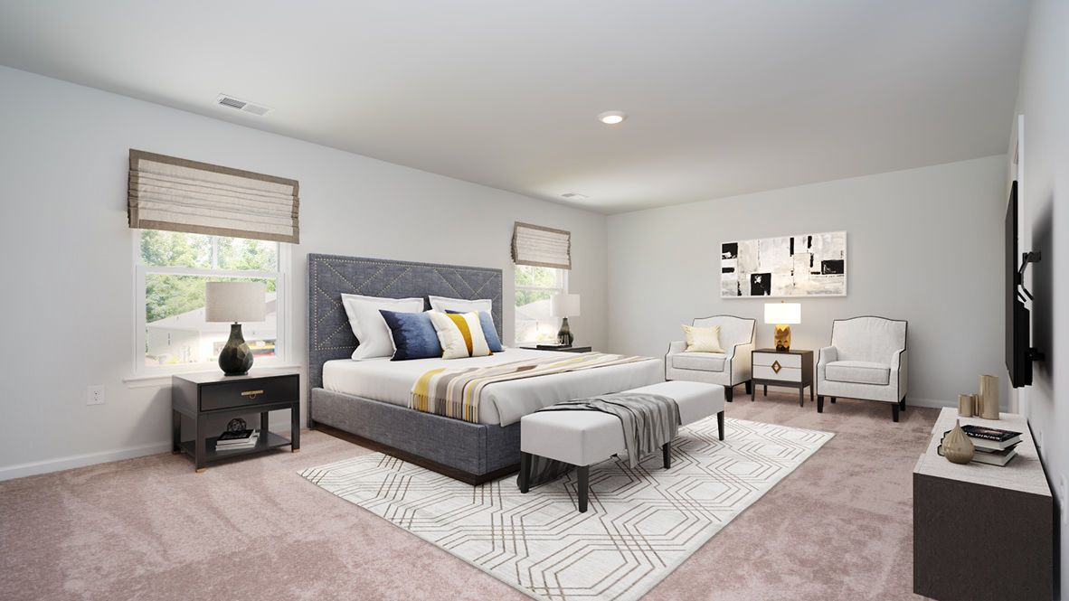 Bedroom featured in the ROBIE By D.R. Horton in Myrtle Beach, SC