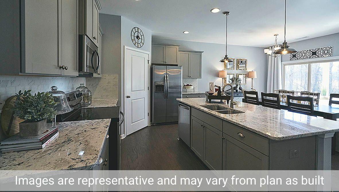 Kitchen featured in the Dover By D.R. Horton in Greensboro-Winston-Salem-High Point, NC