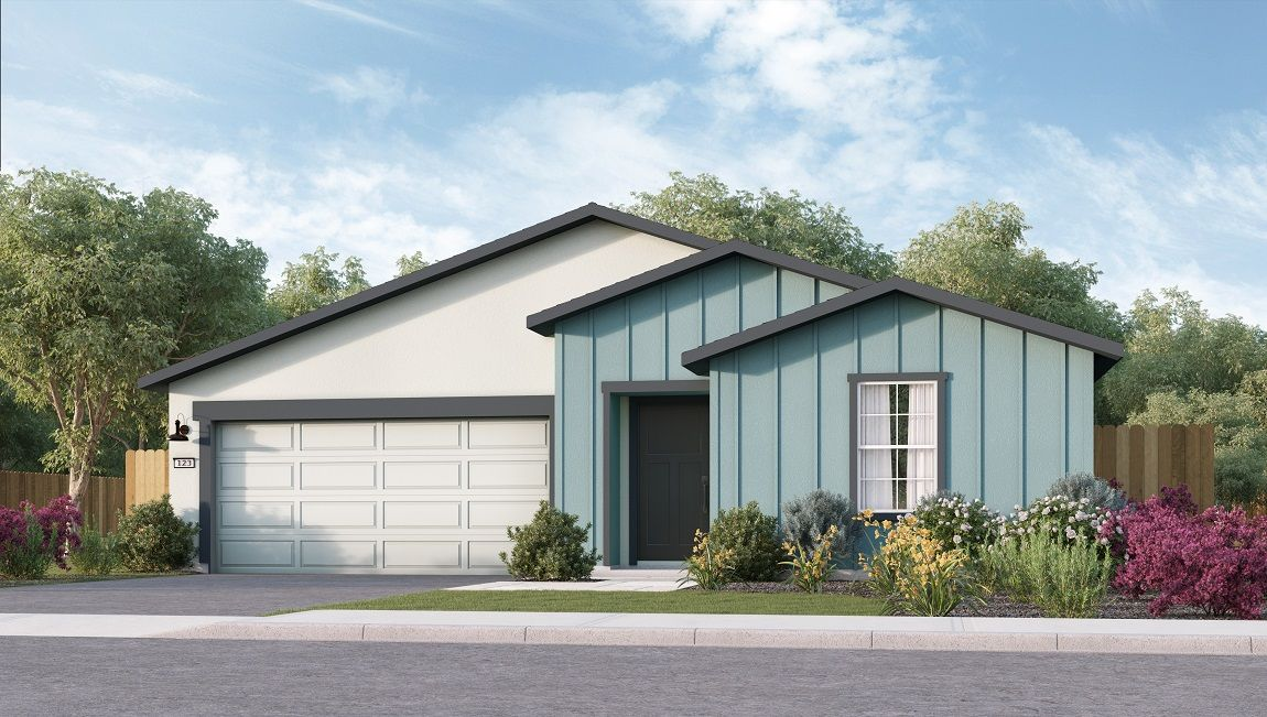 Exterior featured in the Coolidge By D.R. Horton in Visalia, CA