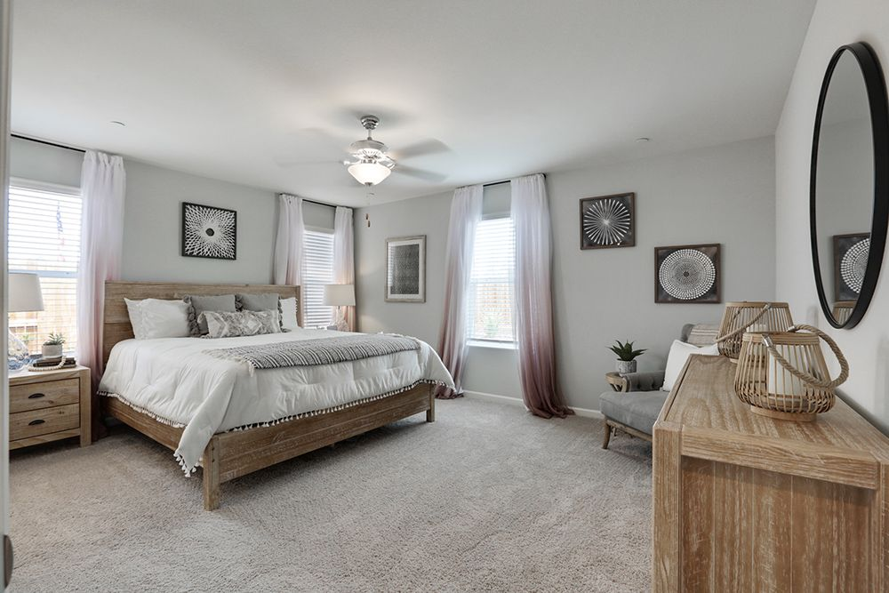 Bedroom featured in the Coolidge By D.R. Horton in Visalia, CA