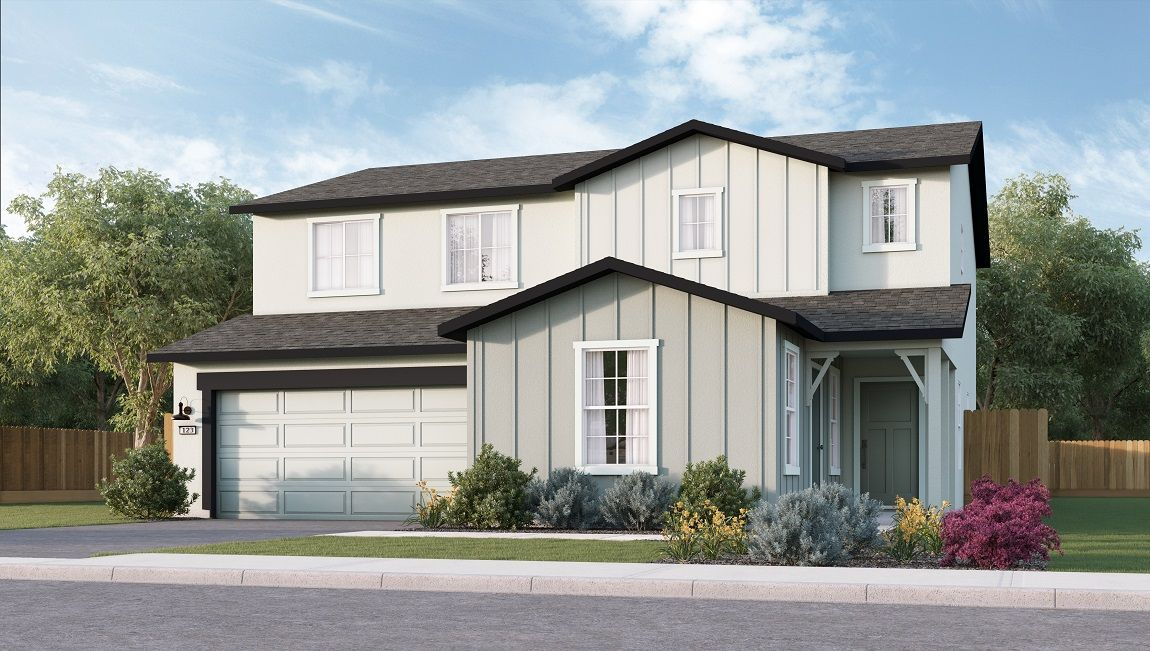 Exterior featured in the Lincoln By D.R. Horton in Visalia, CA