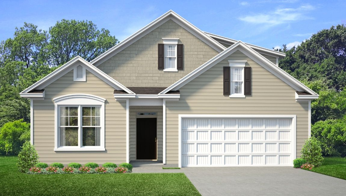 Exterior featured in the DOVER-EXP By D.R. Horton in Wilmington, NC
