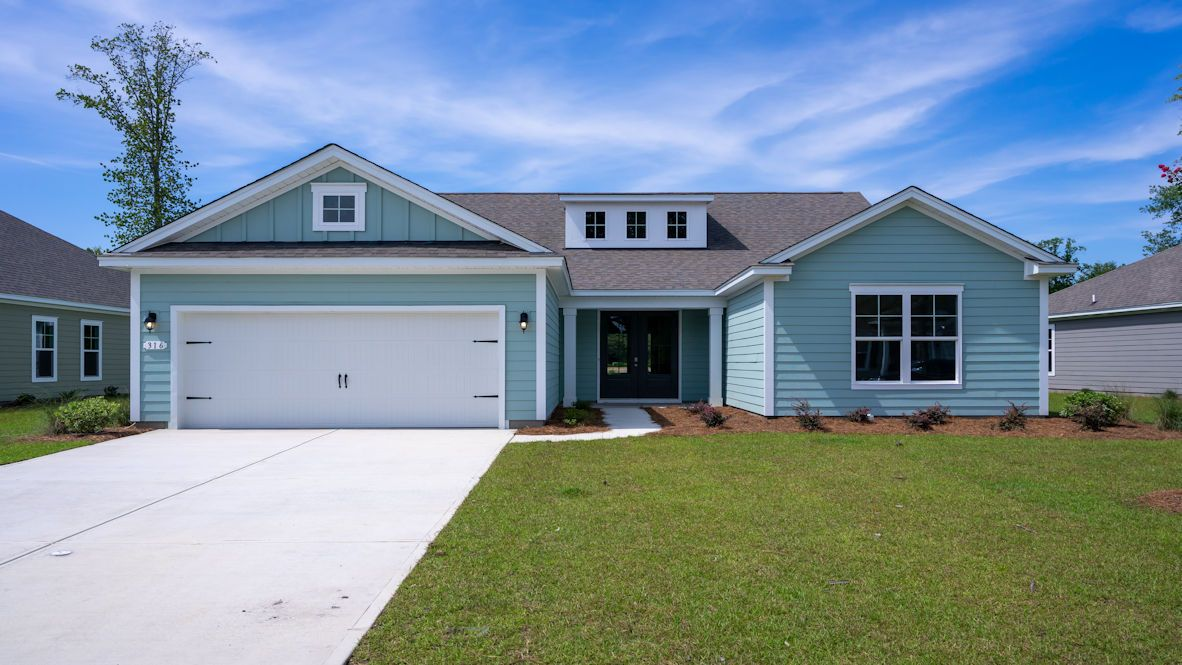 Exterior featured in the CUMBERLAND By D.R. Horton in Wilmington, NC
