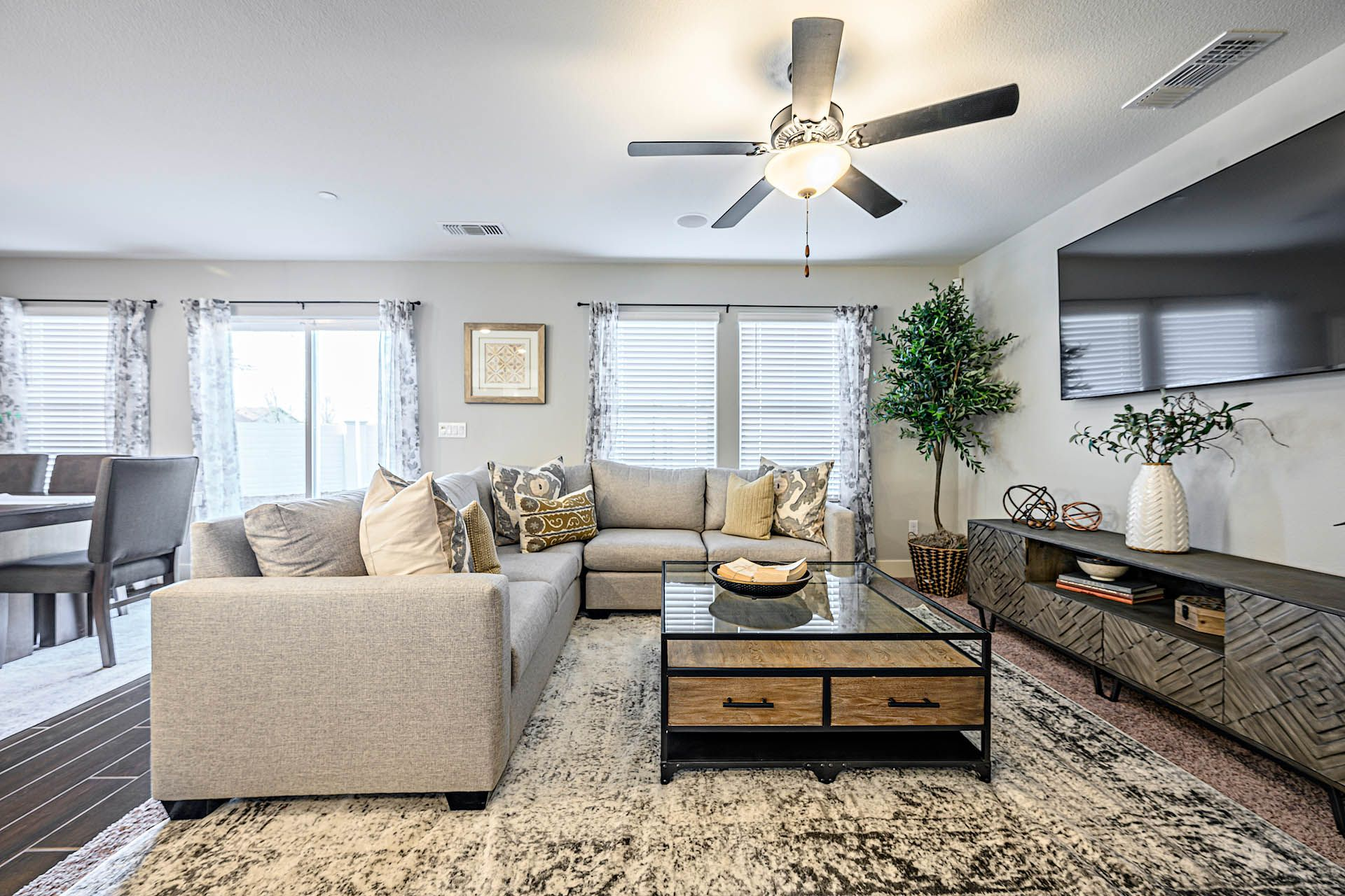 Living Area featured in the Adams By D.R. Horton in Merced, CA