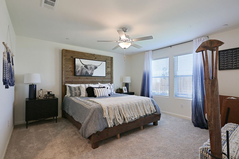 Bedroom featured in the Adams By D.R. Horton in Fresno, CA