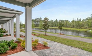 Nassau Crossing Townhomes by D.R. Horton in Jacksonville-St. Augustine Florida