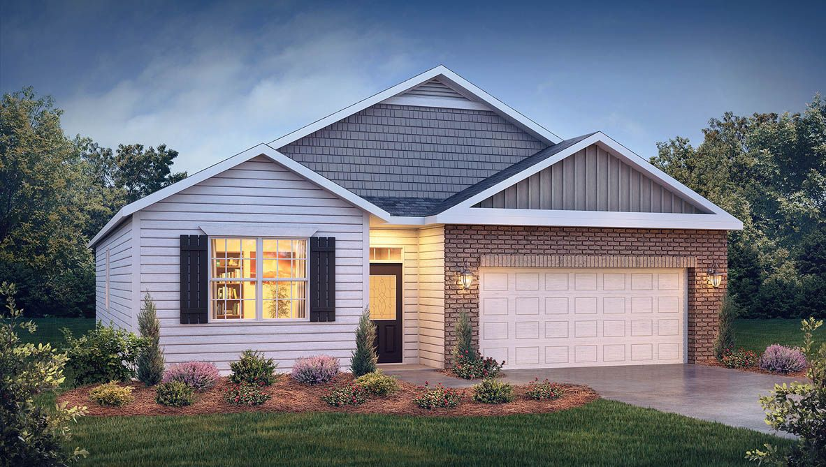 Exterior featured in the Cali By D.R. Horton in Rocky Mount, NC