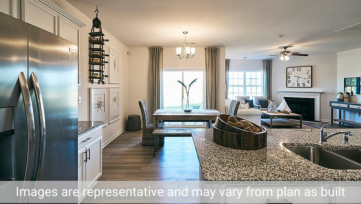 Kitchen featured in the Cali By D.R. Horton in Rocky Mount, NC