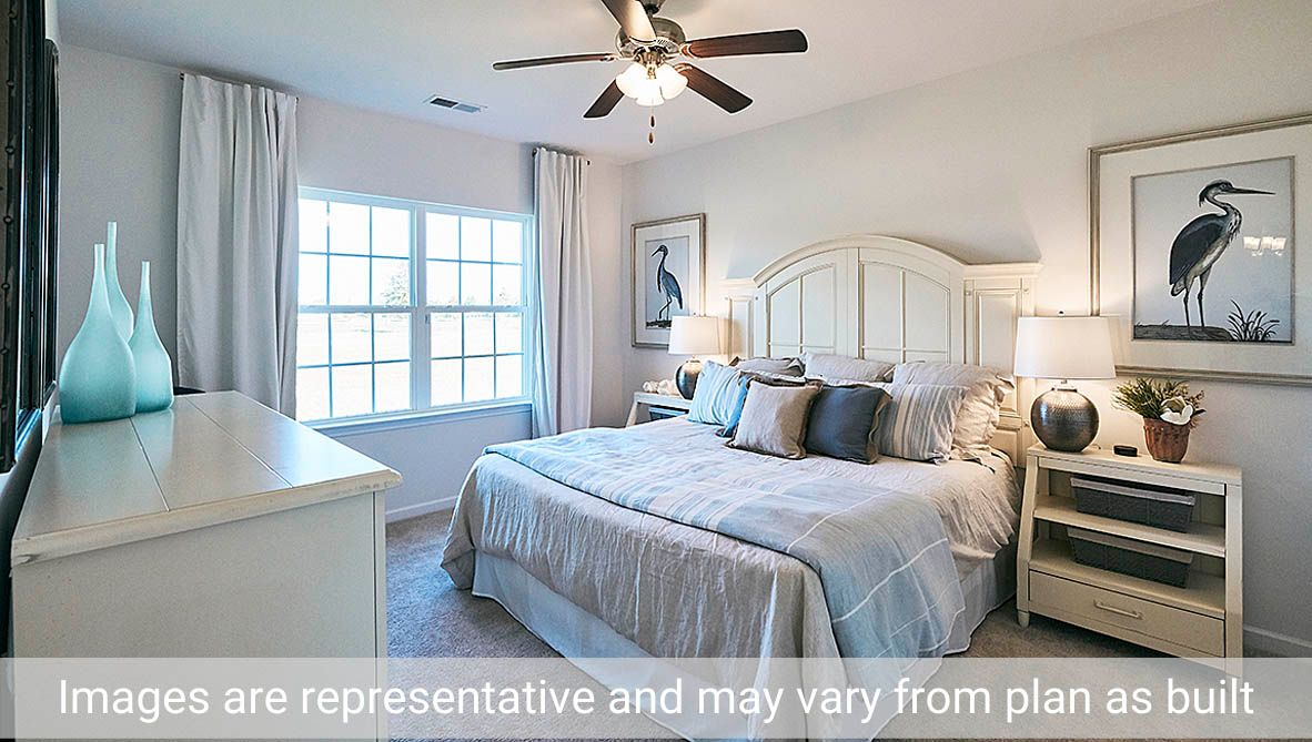 Bedroom featured in the Cali By D.R. Horton in Rocky Mount, NC
