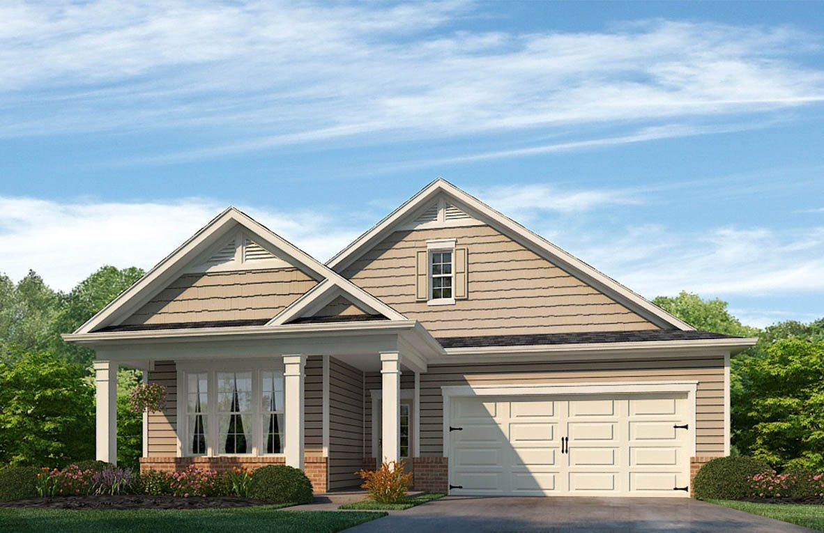 Exterior featured in the Clifton By D.R. Horton in Rocky Mount, NC