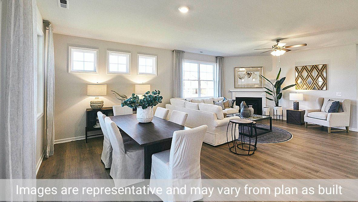 Living Area featured in the Clifton By D.R. Horton in Rocky Mount, NC
