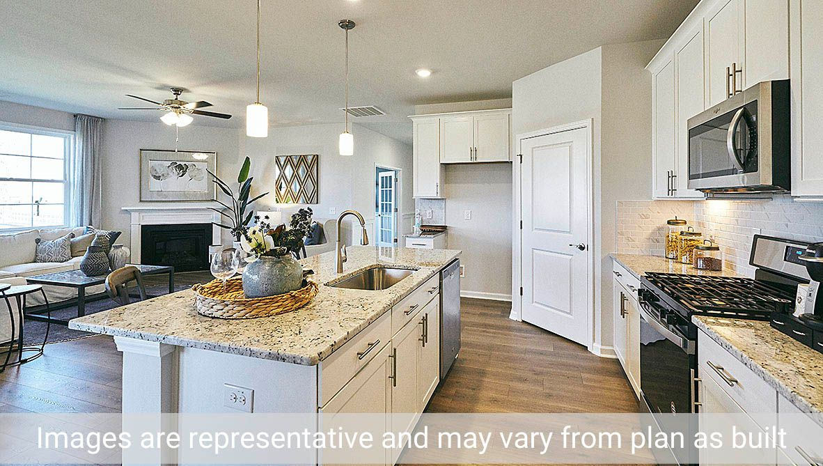 Kitchen featured in the Clifton By D.R. Horton in Rocky Mount, NC