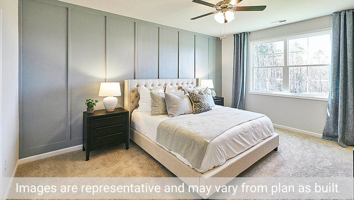 Bedroom featured in the Clifton By D.R. Horton in Rocky Mount, NC