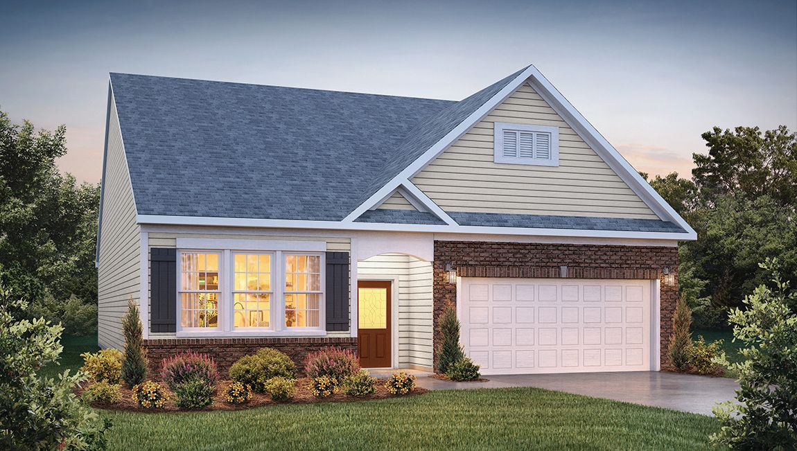 Exterior featured in the Aberdeen By D.R. Horton in Rocky Mount, NC