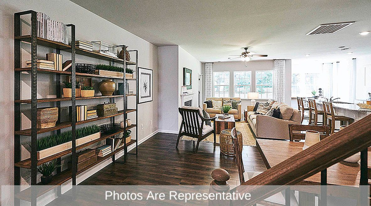 Living Area featured in the Aberdeen By D.R. Horton in Rocky Mount, NC