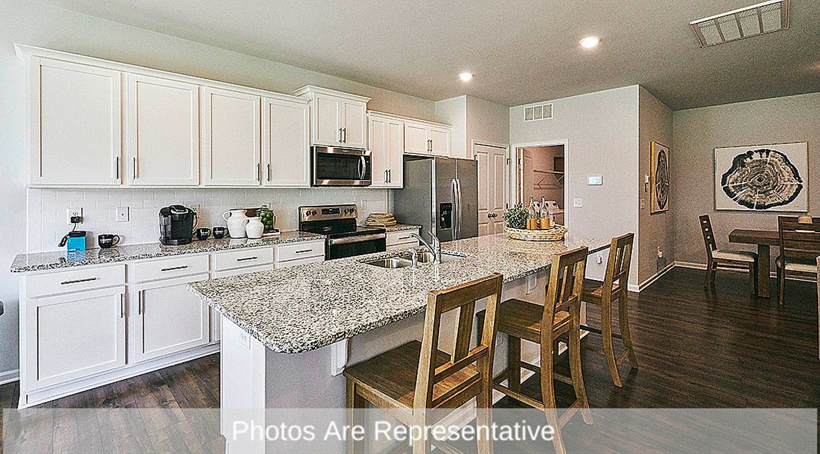 Kitchen featured in the Aberdeen By D.R. Horton in Rocky Mount, NC