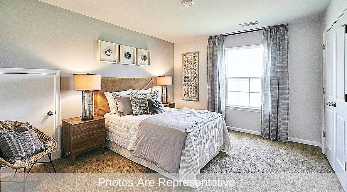 Bedroom featured in the Aberdeen By D.R. Horton in Rocky Mount, NC