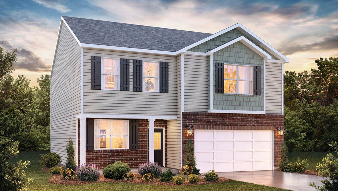 Exterior featured in the Penwell By D.R. Horton in Rocky Mount, NC