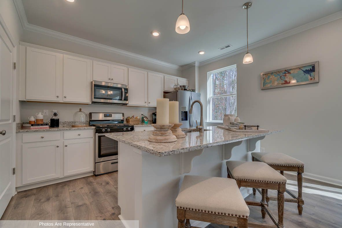 Kitchen featured in the Penwell By D.R. Horton in Rocky Mount, NC