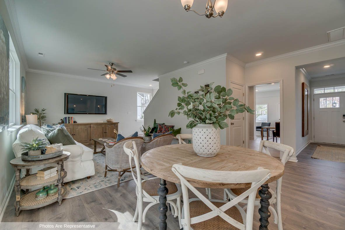 Living Area featured in the Penwell By D.R. Horton in Rocky Mount, NC