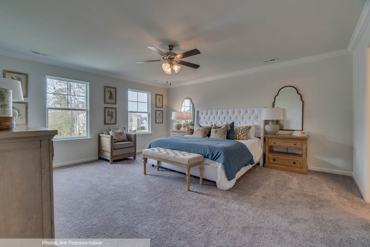 Bedroom featured in the Penwell By D.R. Horton in Rocky Mount, NC
