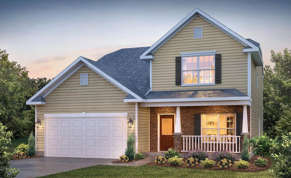 Exterior featured in the Winston By D.R. Horton in Rocky Mount, NC