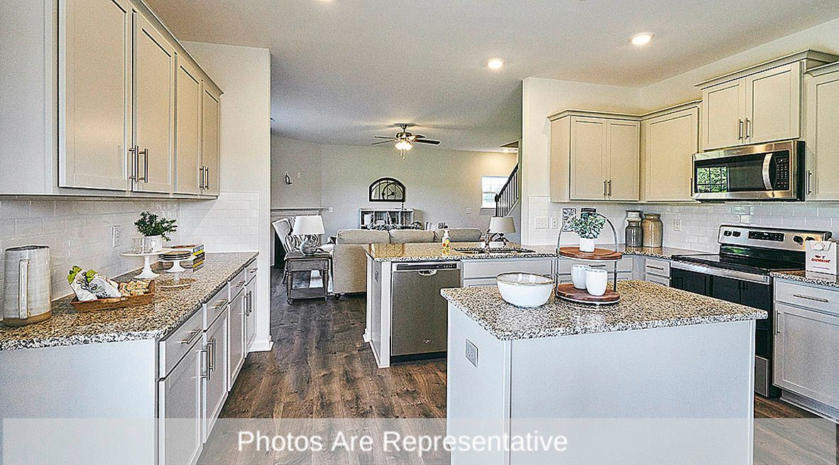 Kitchen featured in the Wilmington By D.R. Horton in Rocky Mount, NC