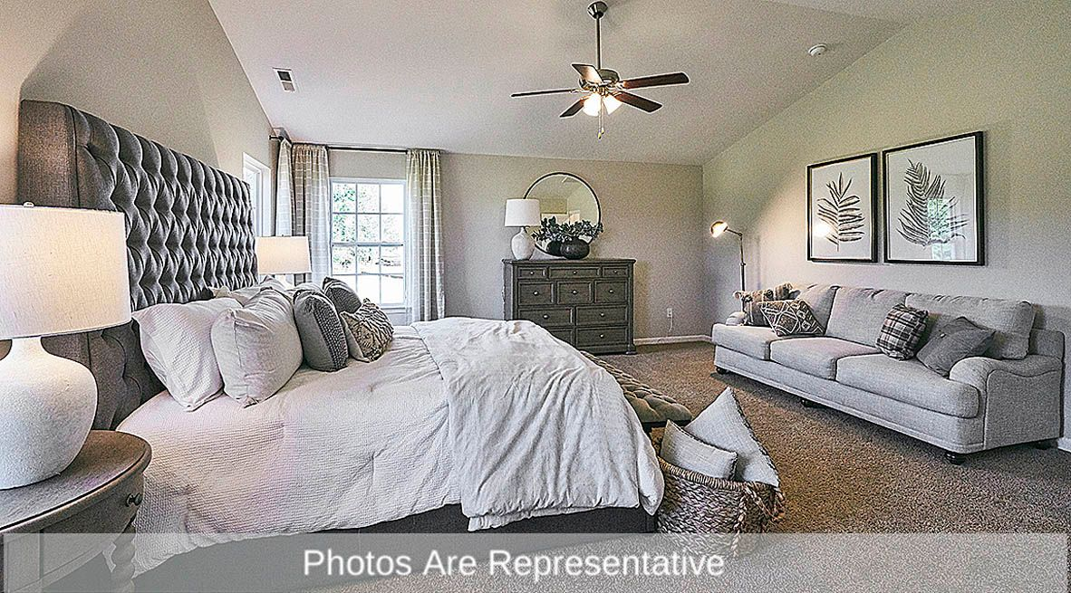 Bedroom featured in the Wilmington By D.R. Horton in Rocky Mount, NC