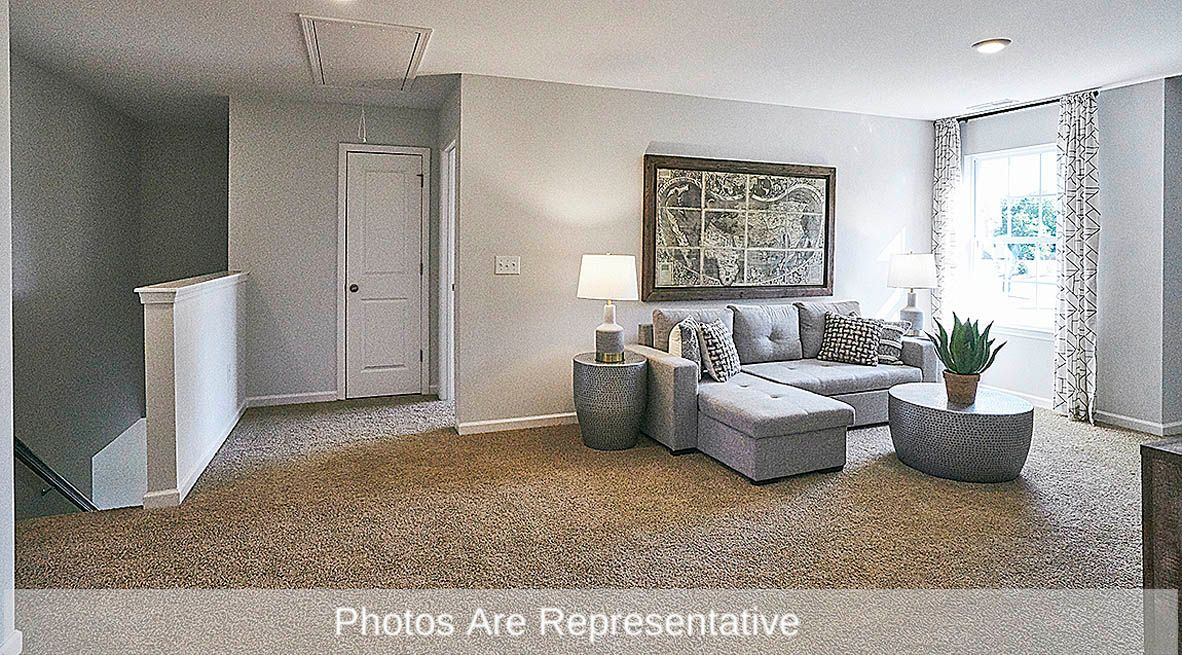 Living Area featured in the Wilmington By D.R. Horton in Rocky Mount, NC