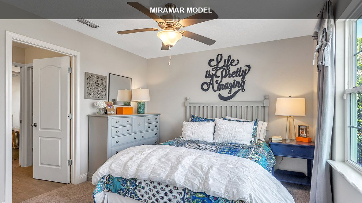 Bedroom featured in the MIRAMAR By D.R. Horton in Jacksonville-St. Augustine, FL