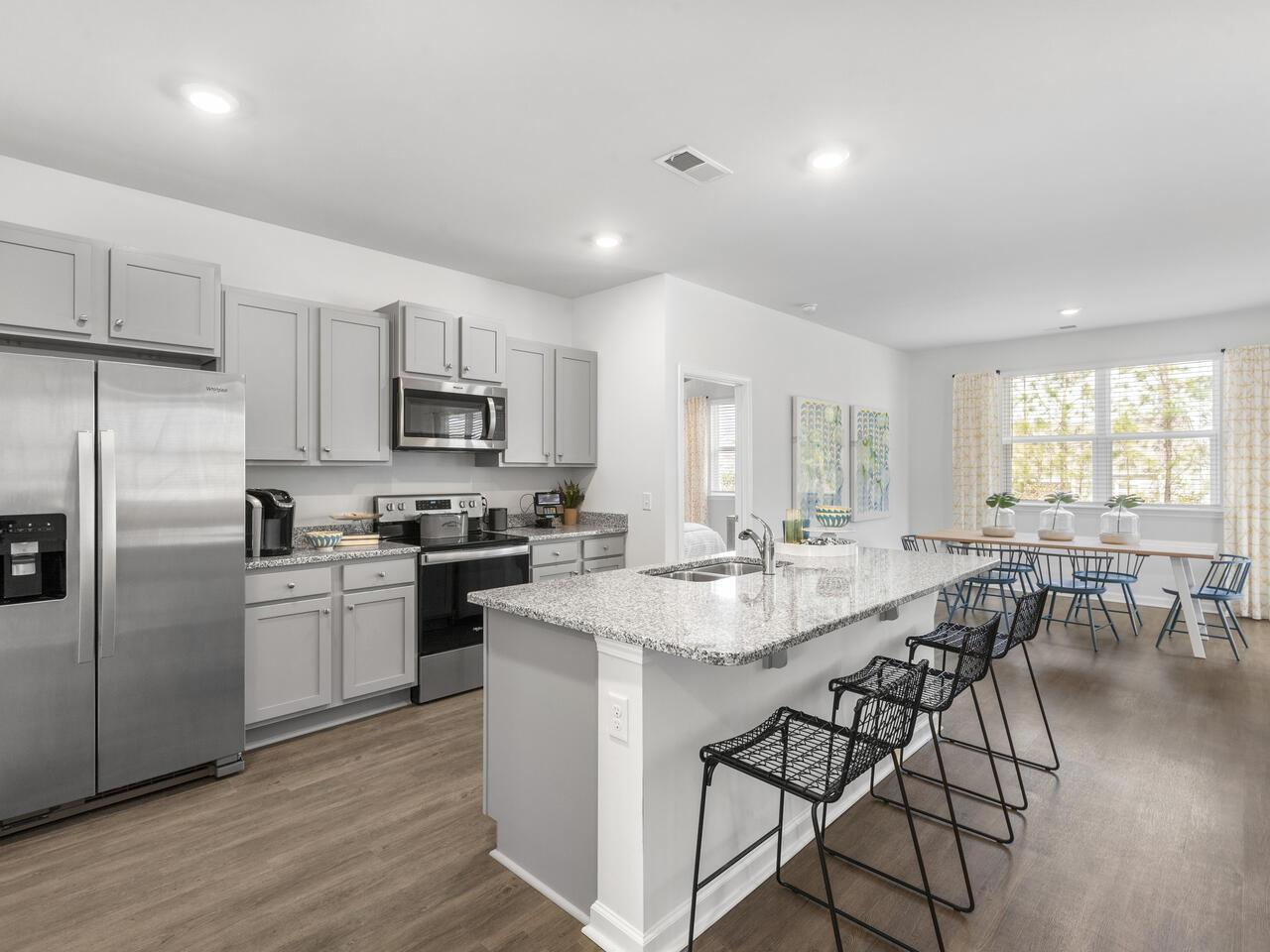 Kitchen featured in the ARIA By D.R. Horton in Jacksonville, NC