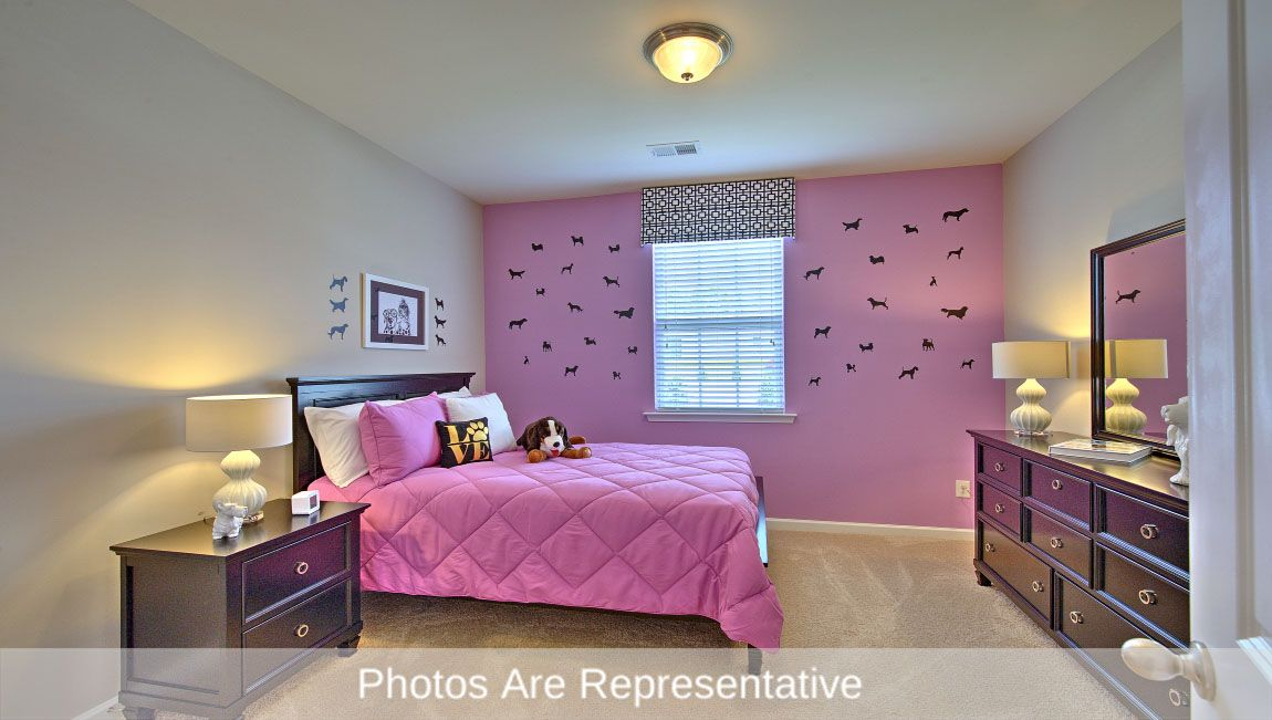Bedroom featured in the Cali By D.R. Horton in Greenville, NC