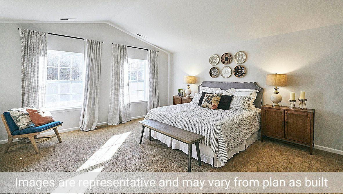 Bedroom featured in the Vivian By D.R. Horton in Greenville, NC