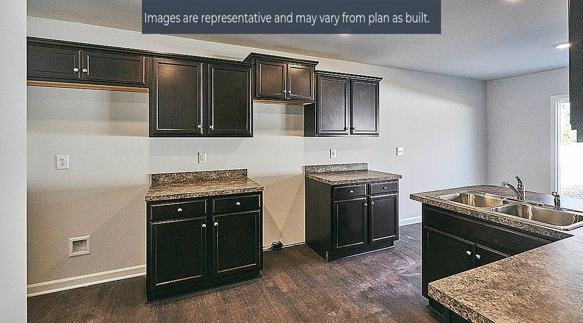 Kitchen featured in the Chelsea By D.R. Horton in Greenville, NC
