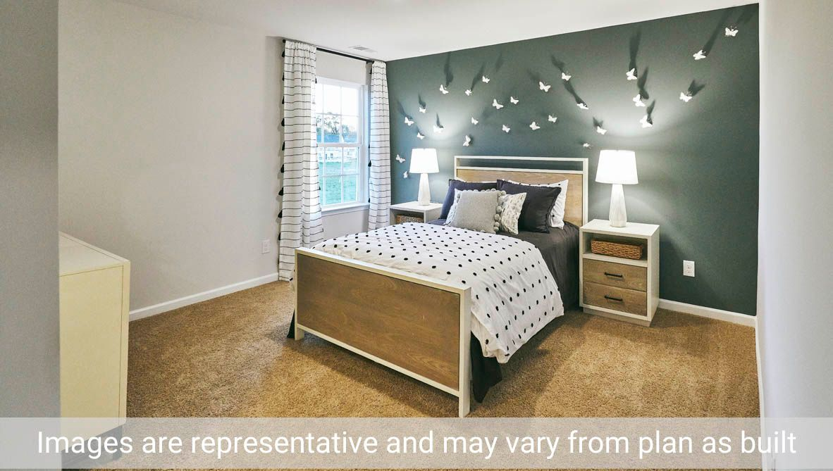 Bedroom featured in the Holly By D.R. Horton in Greenville, NC