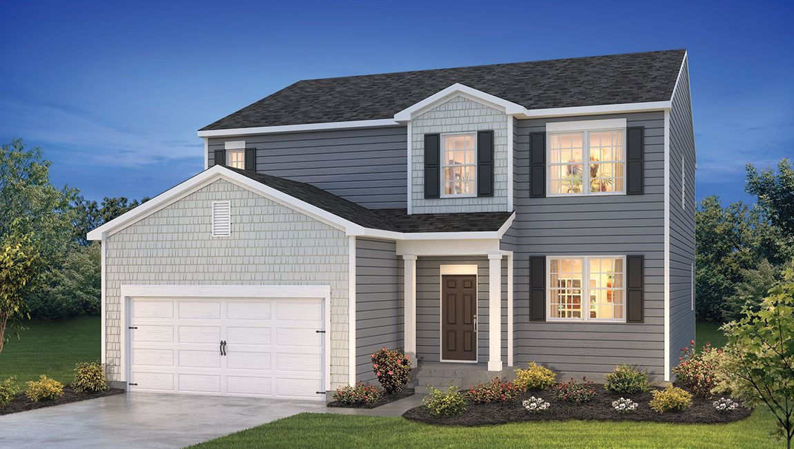 Exterior featured in the ELLERBE By D.R. Horton in Sussex, DE
