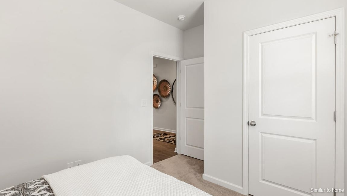 Bedroom featured in the KERRY By D.R. Horton in Wilmington, NC