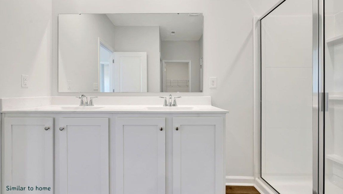 Bathroom featured in the CALI By D.R. Horton in Wilmington, NC