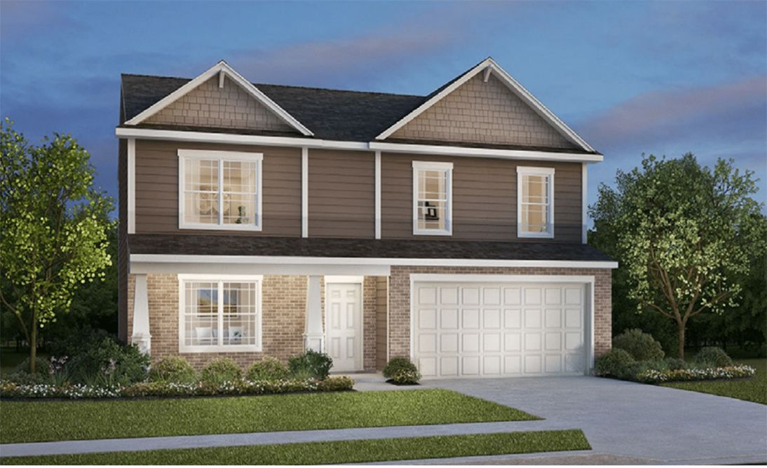 Exterior featured in the Dover By D.R. Horton in Fort Wayne, IN