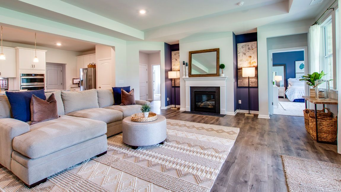 Living Area featured in the GARLAND By D.R. Horton in Nashville, TN